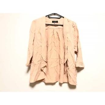 【中古】 ジャスグリッティー JUSGLITTY ジャケット サイズ2 M レディース ピンク
