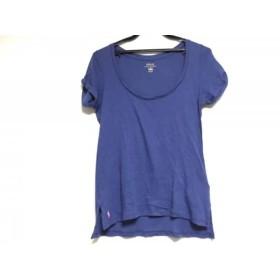 【中古】 ポロラルフローレン POLObyRalphLauren 半袖Tシャツ サイズXS レディース ブルー