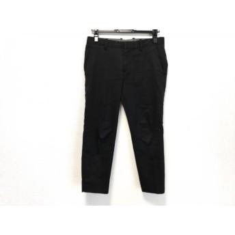 【中古】 サイ SCYE パンツ サイズ36 S レディース 黒