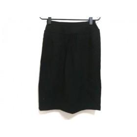 【中古】 レリアン Leilian スカート サイズ9 M レディース 黒