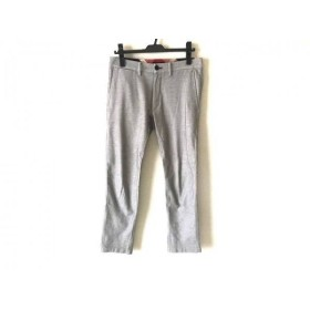 【中古】 ブラックレーベルクレストブリッジ BLACK LABEL CRESTBRIDGE パンツ サイズ73 メンズ グレー