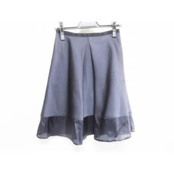 【中古】 ジャスグリッティー JUSGLITTY スカート サイズ1 S レディース ネイビー ダークネイビー