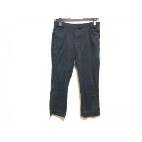 【中古】 レオナール LEONARD パンツ サイズ61 レディース 美品 黒 SPORT/ショート丈