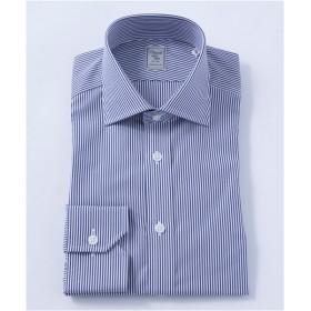 [シャツ]ヒトヨシ ドレスシャツ HB7S-S2-036 ネイビー 38-82