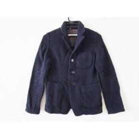 【中古】 オムニゴッド OMNIGOD ジャケット サイズ2 M レディース ネイビー 冬物