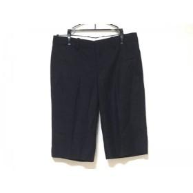 【中古】 ドゥロワー Drawer ハーフパンツ サイズ40 M レディース 黒