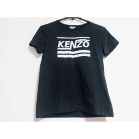 【中古】ケンゾー KENZO 半袖Tシャツ サイズM レディース 黒x白 新着 20190226