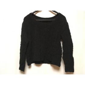 【中古】 5351プールオム 5351 PourLesHomme 七分袖セーター メンズ 黒