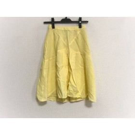 【中古】 ブルマリン BLUMARINE スカート サイズ38 S レディース イエロー