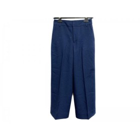 【中古】 ジユウク 自由区/jiyuku パンツ サイズ36 S レディース 美品 ネイビー