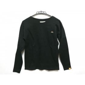 【中古】 ソウソウ SOU・SOU 長袖Tシャツ サイズXS レディース 黒