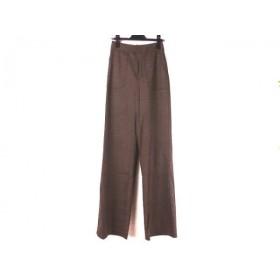 【中古】 マークバイマークジェイコブス パンツ サイズ0 XS レディース 美品 ダークブラウン