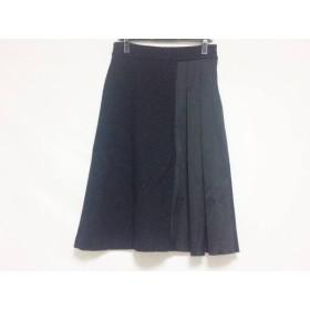 【中古】 フォンデル VONDEL ロングスカート サイズM レディース 美品 黒