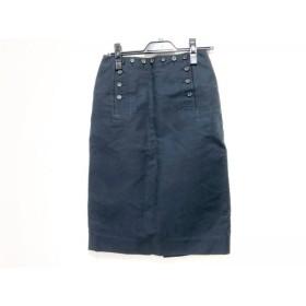【中古】 セリーヌ CELINE スカート サイズ38 M レディース 黒