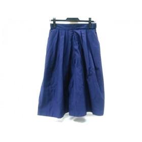 【中古】 ティアラ Tiara パンツ サイズ3 L レディース ネイビー