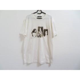 【中古】 ドルチェアンドガッバーナ DOLCE & GABBANA 半袖Tシャツ サイズ56 XL メンズ 白 ダークブラウン