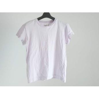 【中古】 アニエスベー agnes b 半袖Tシャツ サイズ2 M レディース ライトパープル