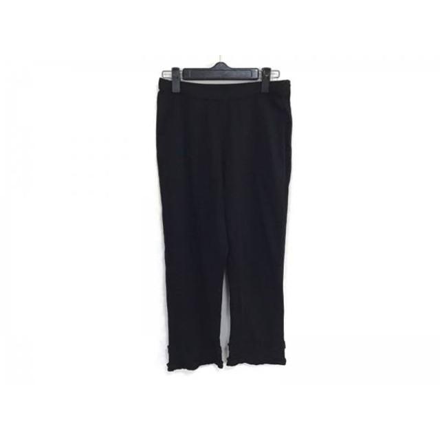 【中古】 インゲボルグ INGEBORG パンツ サイズ9 M レディース 黒 フリル
