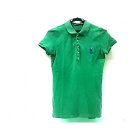 【中古】 ラルフローレンスポーツ RALPHLAUREN SPORT 半袖ポロシャツ サイズM メンズ グリーン パープル