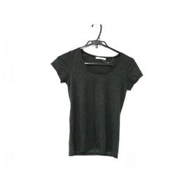 【中古】 ブラーミン BRAHMIN 半袖Tシャツ サイズ38 M レディース 美品 黒