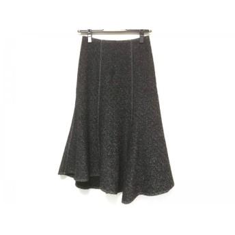 【中古】 イエナ IENA ロングスカート サイズ34 S レディース 黒 白