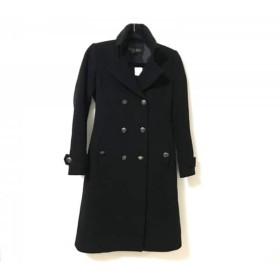 【中古】 ブラックバイマウジー BLACK by moussy コート サイズ2 M レディース 黒 冬物