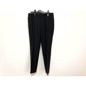 【中古】 ニジュウサンク 23区 パンツ サイズ42 L レディース 黒