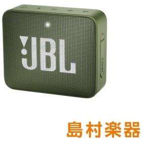 JBL GO2 (グリーン) [ 防水性能IPX7] ポータブルスピーカー ワイヤレススピーカー Bluetoothスピーカー