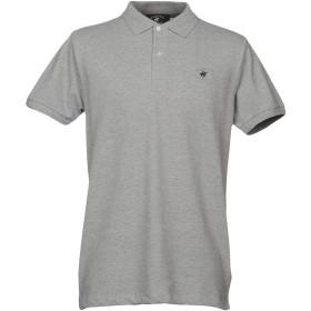 《期間限定 セール開催中》BEVERLY HILLS POLO CLUB メンズ ポロシャツ ライトグレー S コットン 60% / ポリエステル 40%
