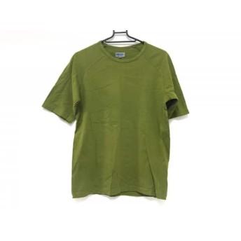 【中古】 ケンゾー KENZO 半袖Tシャツ サイズ2 M メンズ ダークグリーン HOMME