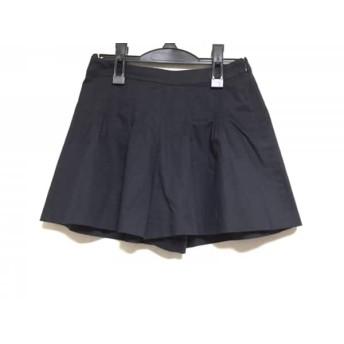 【中古】 バーバリーブルーレーベル Burberry Blue Label ショートパンツ サイズ36 S レディース 黒