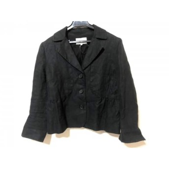 【中古】 スピック&スパン Spick & Span ジャケット サイズ38 M レディース 黒