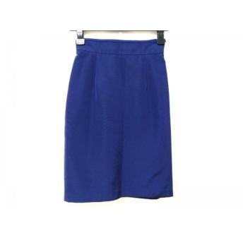 【中古】 ジャスグリッティー JUSGLITTY スカート サイズ0 XS レディース ネイビー リボン