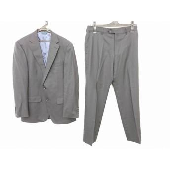 【中古】 ジュンコシマダ JUNKO SHIMADA シングルスーツ サイズA6 メンズ 美品 ダークネイビー 肩パッド