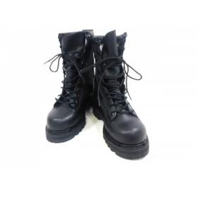 【中古】 ベイツ BATES ショートブーツ 2 1/2 レディース 美品 黒 GORE-TEX レザー ナイロン