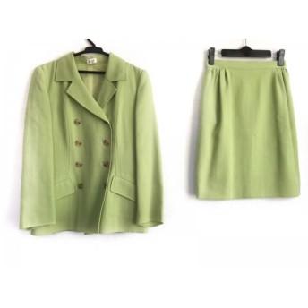 【中古】 フォクシー FOXEY スカートスーツ サイズ38 M レディース ライトグリーン BOUTIQUE