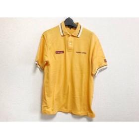 【中古】 パーリーゲイツ PEARLY GATES 半袖ポロシャツ サイズ1 S メンズ 美品 オレンジ