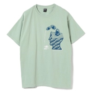 BRAIN-DEAD / Close Tee メンズ Tシャツ MINT. GRN L