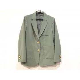 【中古】 バーンヤードストーム BARNYARDSTORM ジャケット サイズ1 S レディース ライトグリーン 肩パッド