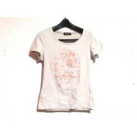 【中古】 トルネードマート TORNADO MART 半袖Tシャツ レディース ライトグレー ピンク FEMME