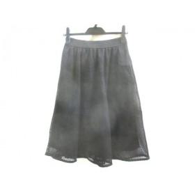 【中古】 ノーブランド スカート サイズS レディース 黒