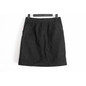 【中古】 ローリーズファーム LOWRYS FARM スカート サイズM レディース 黒