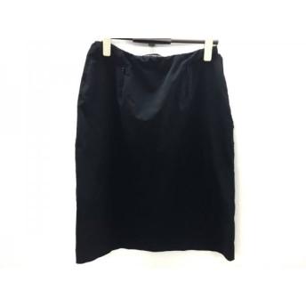【中古】 フォクシーニューヨーク FOXEY NEW YORK スカート サイズ42 L レディース 黒