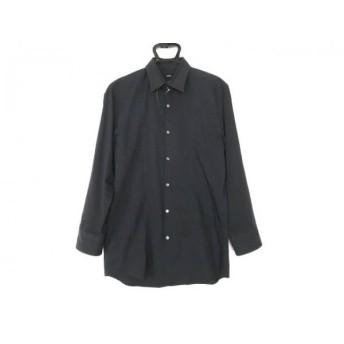 【中古】 ヒューゴボス HUGOBOSS 長袖シャツ サイズ41 ( I ) メンズ ダークネイビー