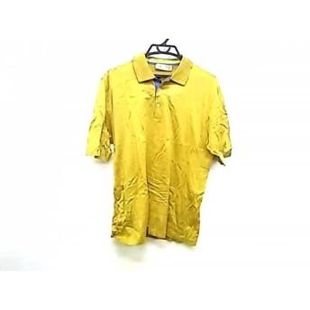 【中古】 ロエベ LOEWE 半袖ポロシャツ サイズXL メンズ イエロー