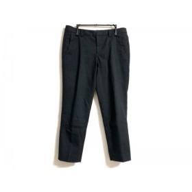 【中古】 シンゾーン Shinzone パンツ サイズ36 S レディース ネイビー グレー ストライプ