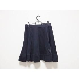 【中古】 ワイスリー Y-3 スカート サイズM レディース 黒 adidas/ウエストゴム