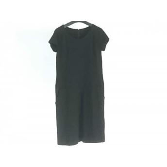 【中古】 スマートピンク smartpink ワンピース サイズ42 L レディース 美品 黒 半袖