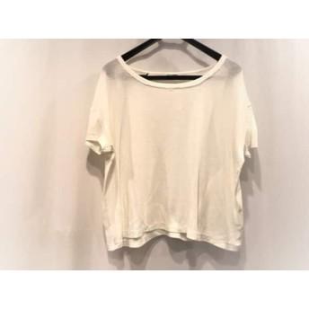 【中古】 ロンハーマン Ron Herman 半袖Tシャツ サイズS レディース アイボリー