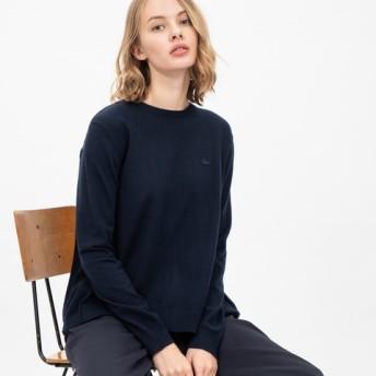 バックプリーツニットセーター